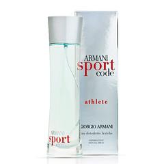 Giorgio Armani Code Sport Athlete Fraiche men