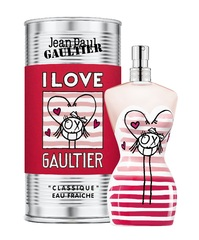 Jean Paul Gaultier Classique Eau Fraiche I Love