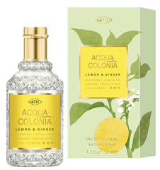 Maurer & Wirtz 4711 Aqua Colognia Lemon & Ginger