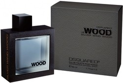 Dsquared² He Wood Silver Wind Wood