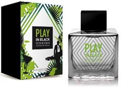 Antonio Banderas Play In Black Seduction For Men